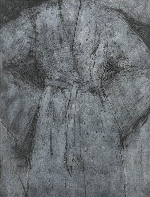 Jim Dine-Grey Sitting With Me (Carpenter 106)-1996