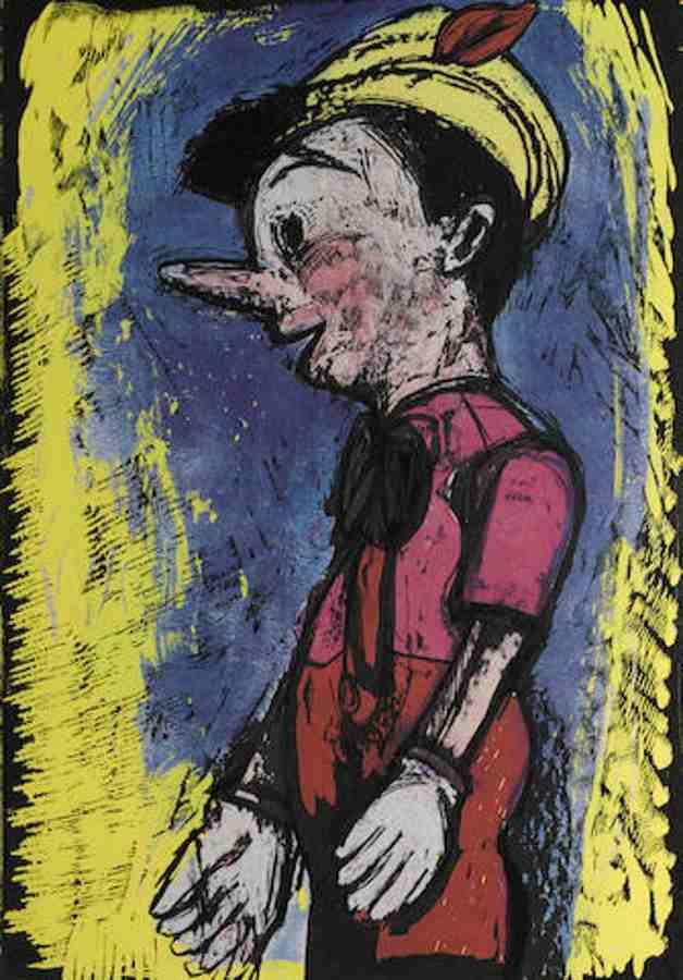 Jim Dine-Lincoln Center Pinocchio-2008