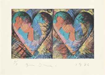 Jim Dine-Louisiana Hearts-1982
