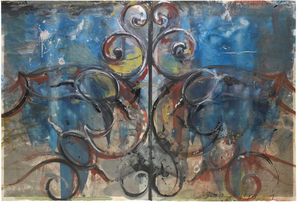Jim Dine-Monotype At Sydney Close III-1983