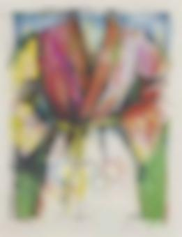 Jim Dine-Olympic Robe, from Official Arts Portfolio of the XXIVth Olympiad, Seoul, Korea-1988