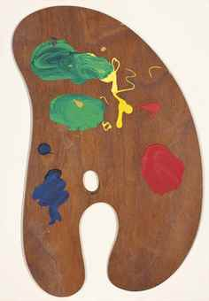 Jim Dine-One plate, from: Four Palettes-1969