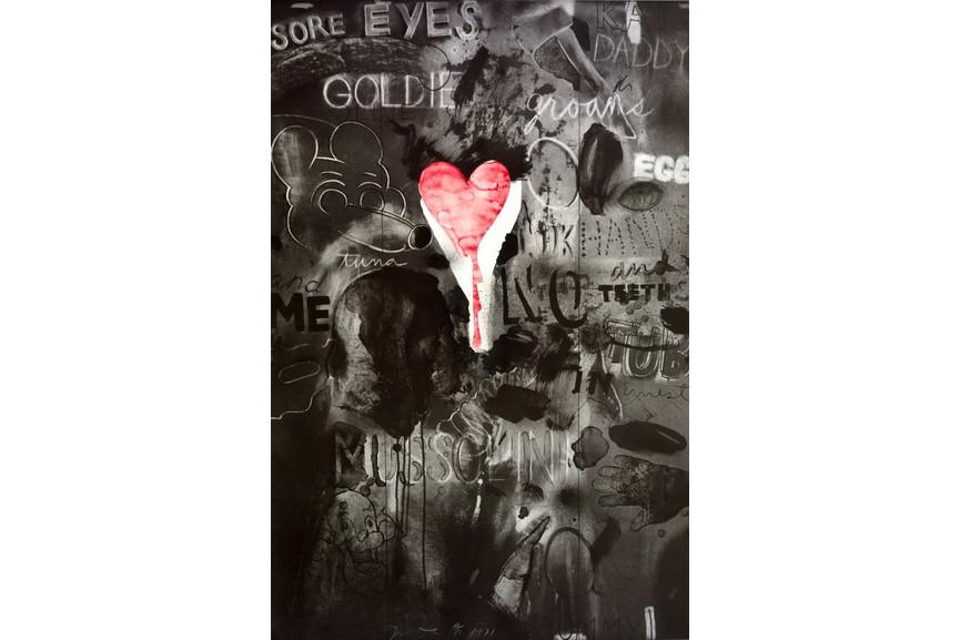 Jim Dine - Picabia III