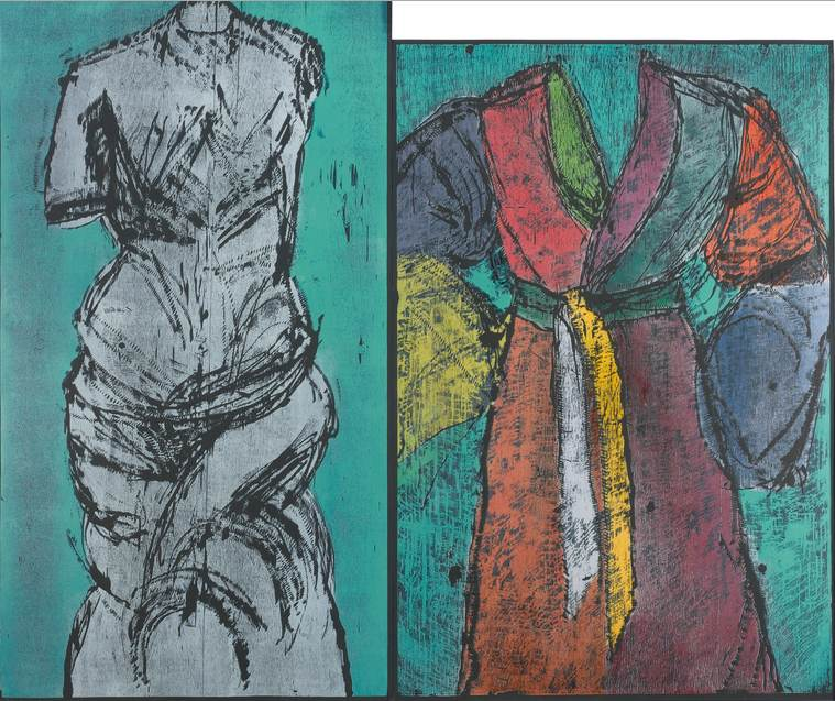 Jim Dine-The Colorful Venus And Neptune (Carpenter 49)-1992