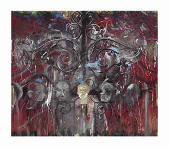 Jim Dine-The Crommelynck Gate (The Yearly Cry of the Women)-1983
