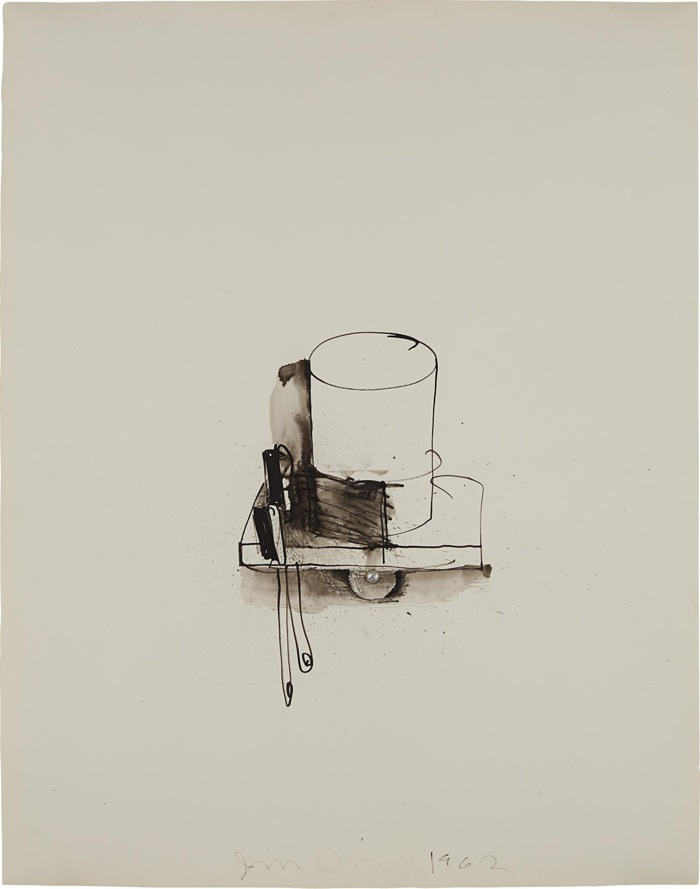 Jim Dine-Tooth Brushes and Glass-1962