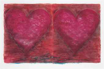 Jim Dine-Two Tomatoes-1981