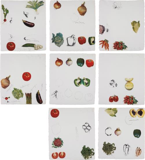 Jim Dine-Vegetables-1970