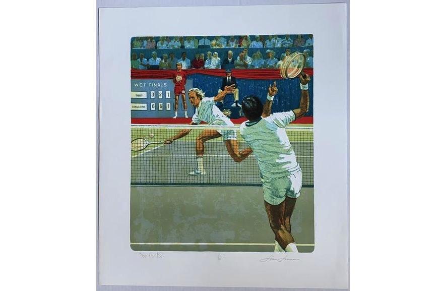 Jim Jonson - Vitas Gerulaitas vs. Eddie Dibbs (WCT Finals, 1978)