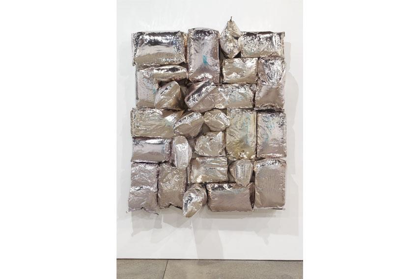 Jim Lambie - Burning Spear, 2015