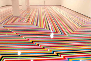 Jim Lambie - Zobop Floor Installation 2