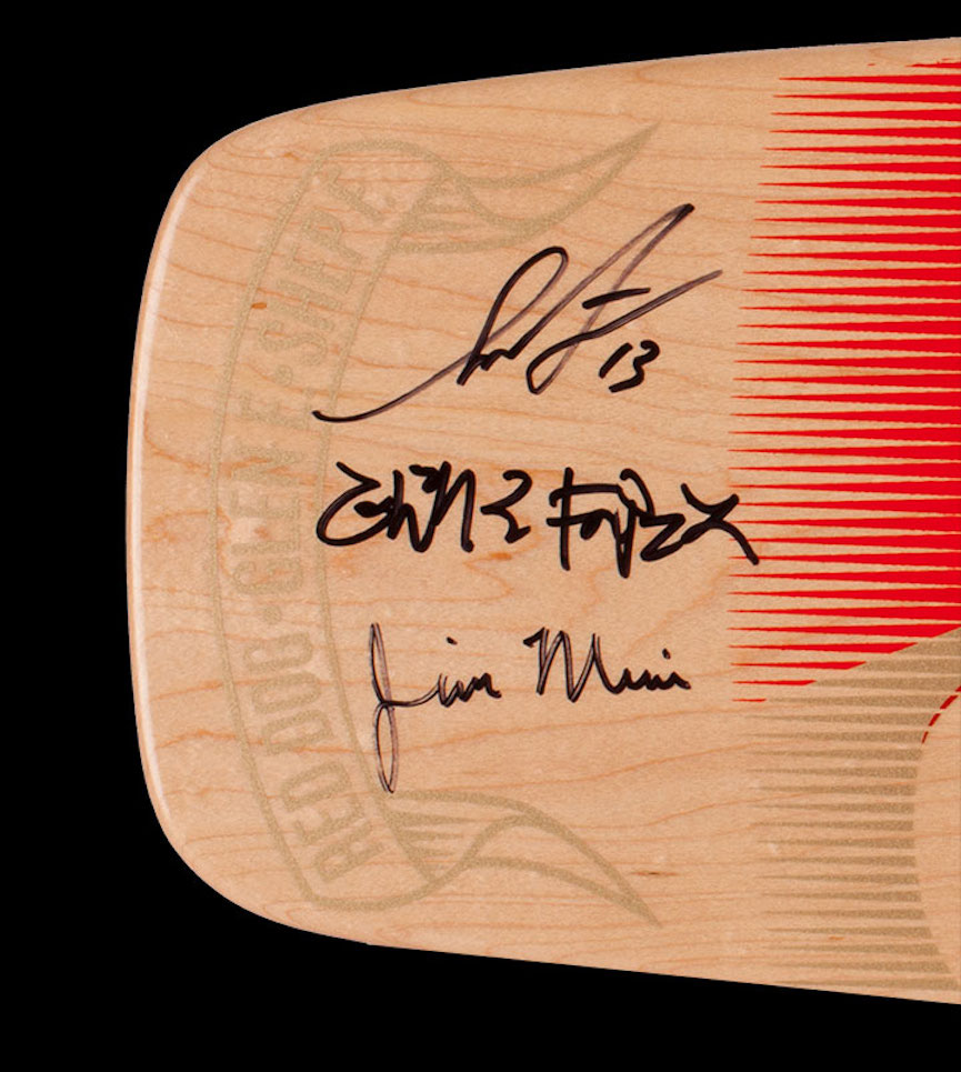 Jim Muir skateboard