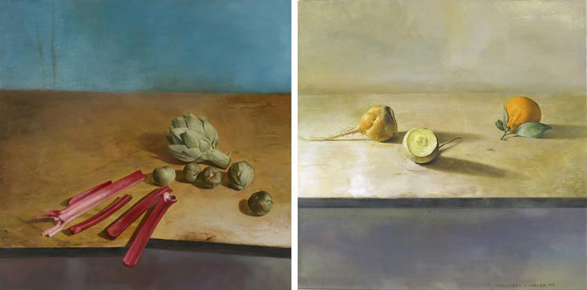 Jim Phalen - Artichoke, Tomatillos, Rhubarb, 2009 - January, 2009