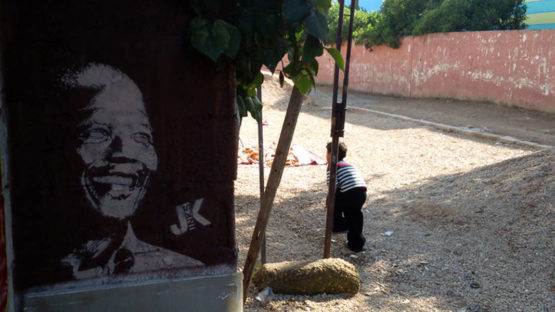 Jinks Kunst - Nelson Mendela, Marocco, 2015 - photo credits of the artist