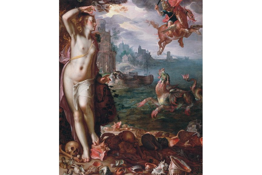 Joachim Wtewael - Perseus and Andromeda