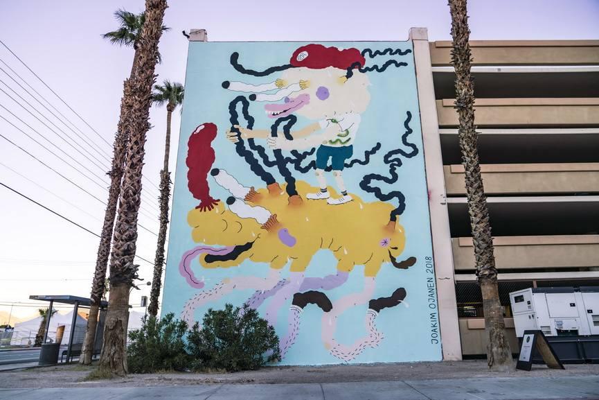 Joakim Ojanen mural