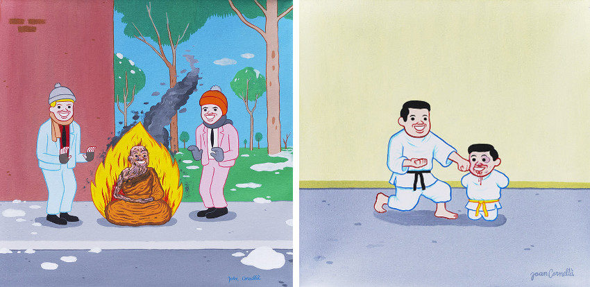 Joan Cornella - Untitled #9 - Untitled #11, link in february 2016, joancornella net and zonzo began a youtube video series in april