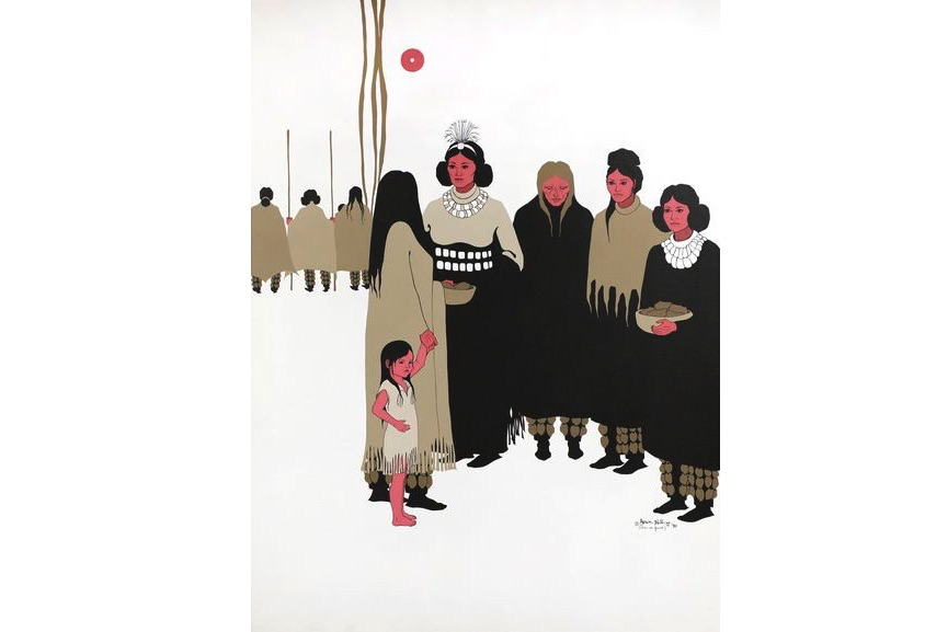 Joan Hill (Muskogee Creek and Cherokee), Women's Voices at the Council, 1990