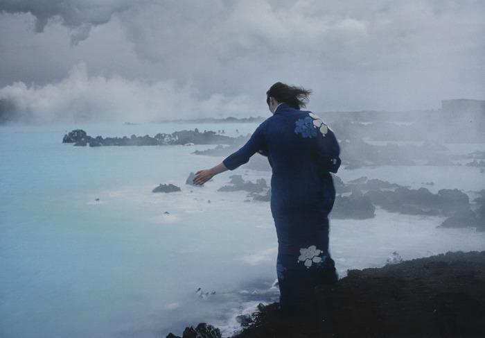 Joan Jonas-Iceland Photo For Volcano Saga #3-1985