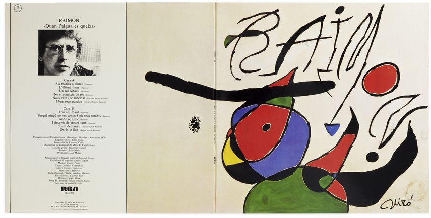 Joan Miró - Quan L'aigua Es Queixa, 1979