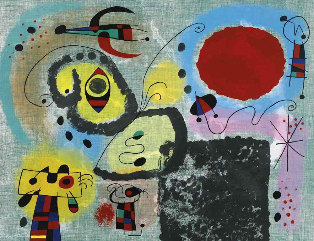 Joan Miro-Centenary Of The Imprimerie Mourlot-1953