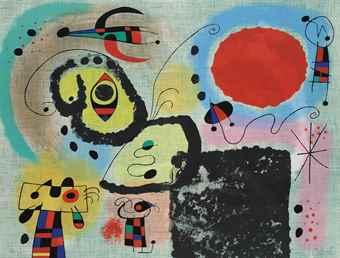 Joan Miro-Centenary of the Imprimerie Mourlot-1953