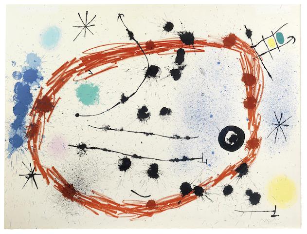 Joan Miro-Cercle Rompu-1964