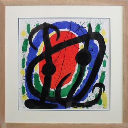 Joan Miro-Composition-