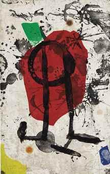 Joan Miro-Els Gossos IX-1979