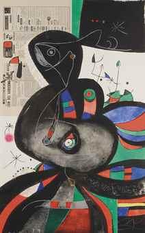 Joan Miro-Gaudi XXI-1979