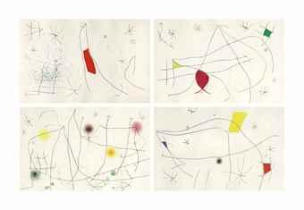 Joan Miro-Jacques Dupin, L'Issue Derobee, Maeght Editeur, Paris-1974