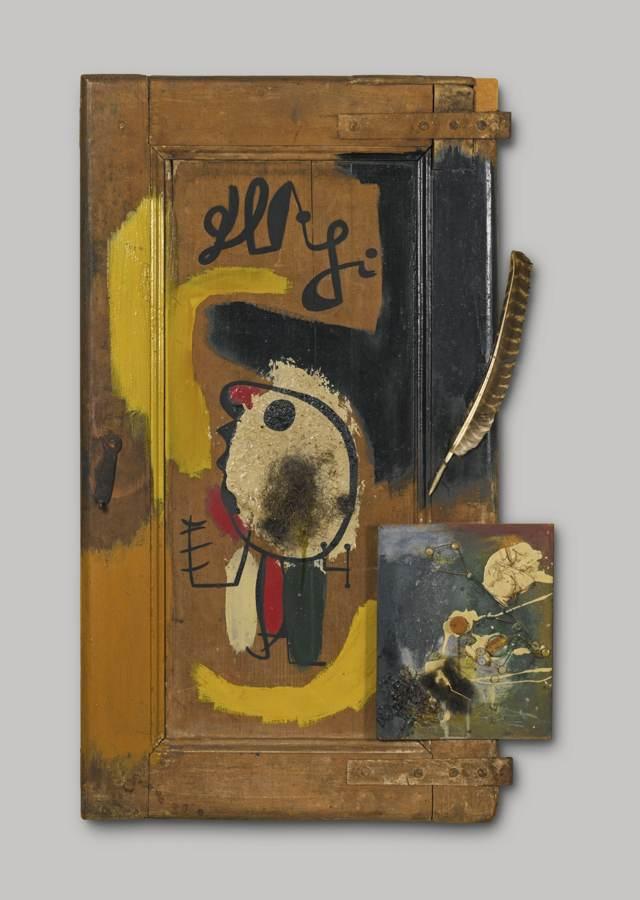 Joan Miro-La Porte (Objet)-1931