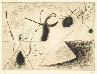 Joan Miro-La ligne d'horizon-1938