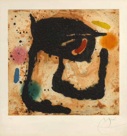 Joan Miro-Le Dandy-1969