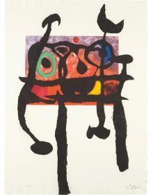 Joan Miro-Le samourai (The Samurai)-1968