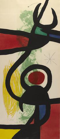 Joan Miro-Les Grandes Manoeuvres-1973