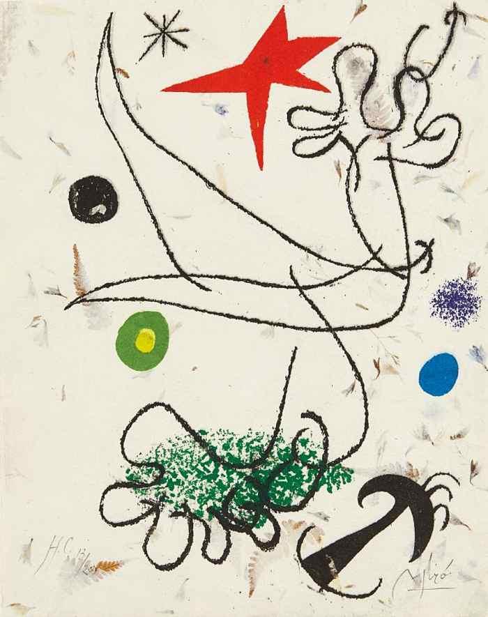 Joan Miro-Mavena-1960