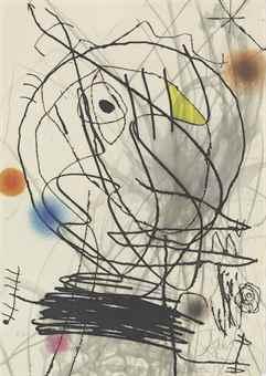 Joan Miro-Passage de l'Egyptienne-1985