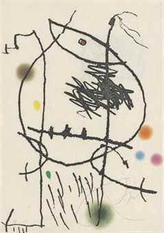 Joan Miro-Passage de l'Egyptienne-1985