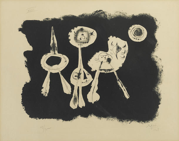 Joan Miro-Pl. 16 from Album 13-1948