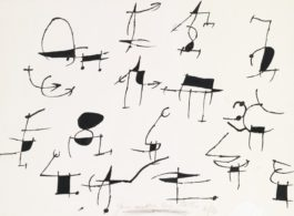 Joan Miro-Pour Meubler Les Textes-1970