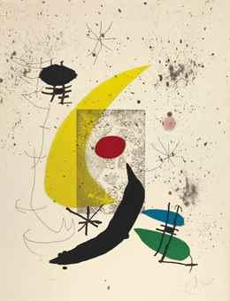 Joan Miro-Pour Paul Eluard-1973