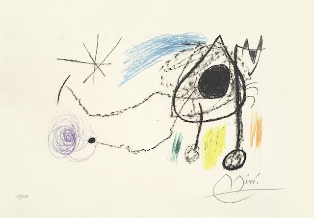 Joan Miro-Sobreteixims I Escultures-1972