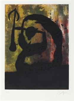 Joan Miro-Tete de Fleche-1968