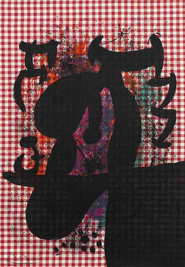 Joan Miro-The Bather-1969