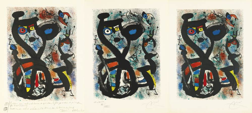 Joan Miro-The Cat-1969