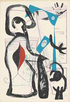 Joan Miro-The fitting I-1969