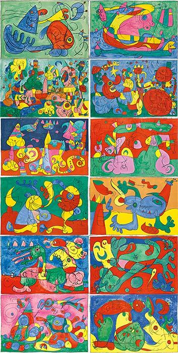 Joan Miro-Ubu Roi-1966