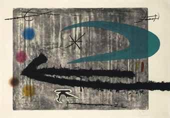 Joan Miro-Vers la Gauche-1968