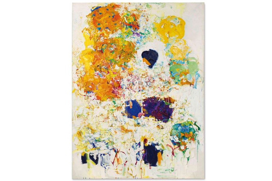 Joan Mitchell - Blueberry, 1969